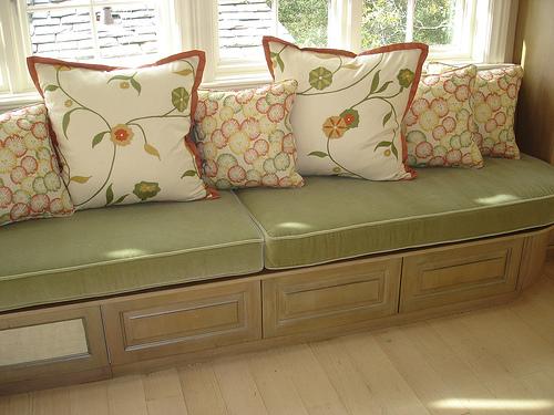 Kitchen Window Seat Window Seat Cushions With Toss