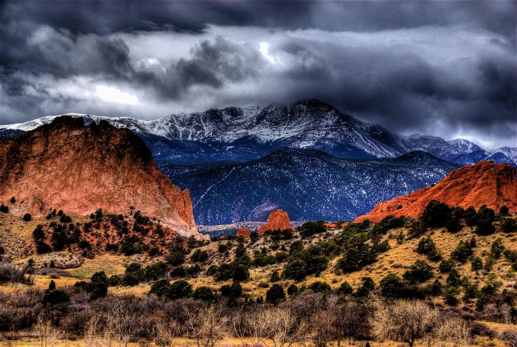 Garden Of The Gods Colorado Springs The Entrance To Garde Flickr
