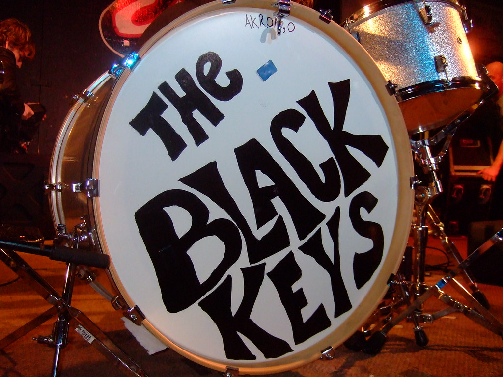 Black Keys Drums The Black Keys Drum | by