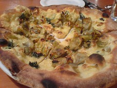 Artichoke pizza | by clotilde