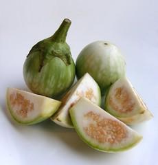 Ronde, Thaise aubergines