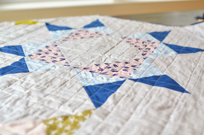 Underwater Missouri Star Quilt