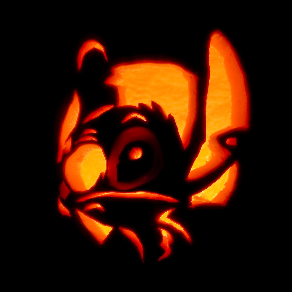 Stitch O Lantern The Carving Has Begun I Got Two Done
