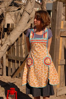vintage apron find | by sew liberated