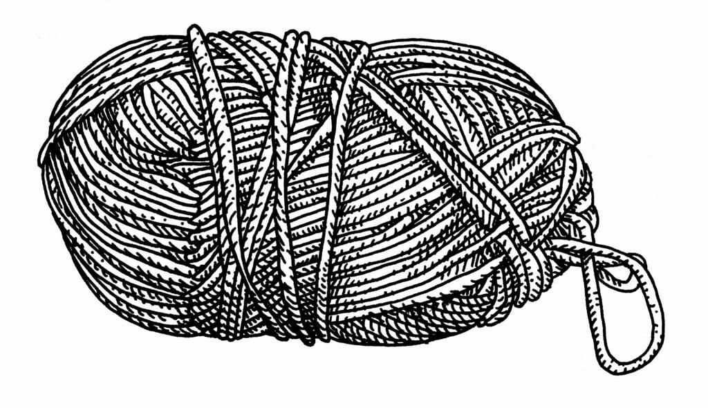 Line Drawing Yarn : Wool trevor dickinson flickr