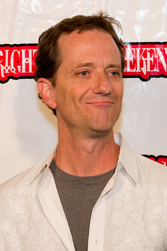 A Michael Baldwin On The Red Carpet At Texas Frightmare