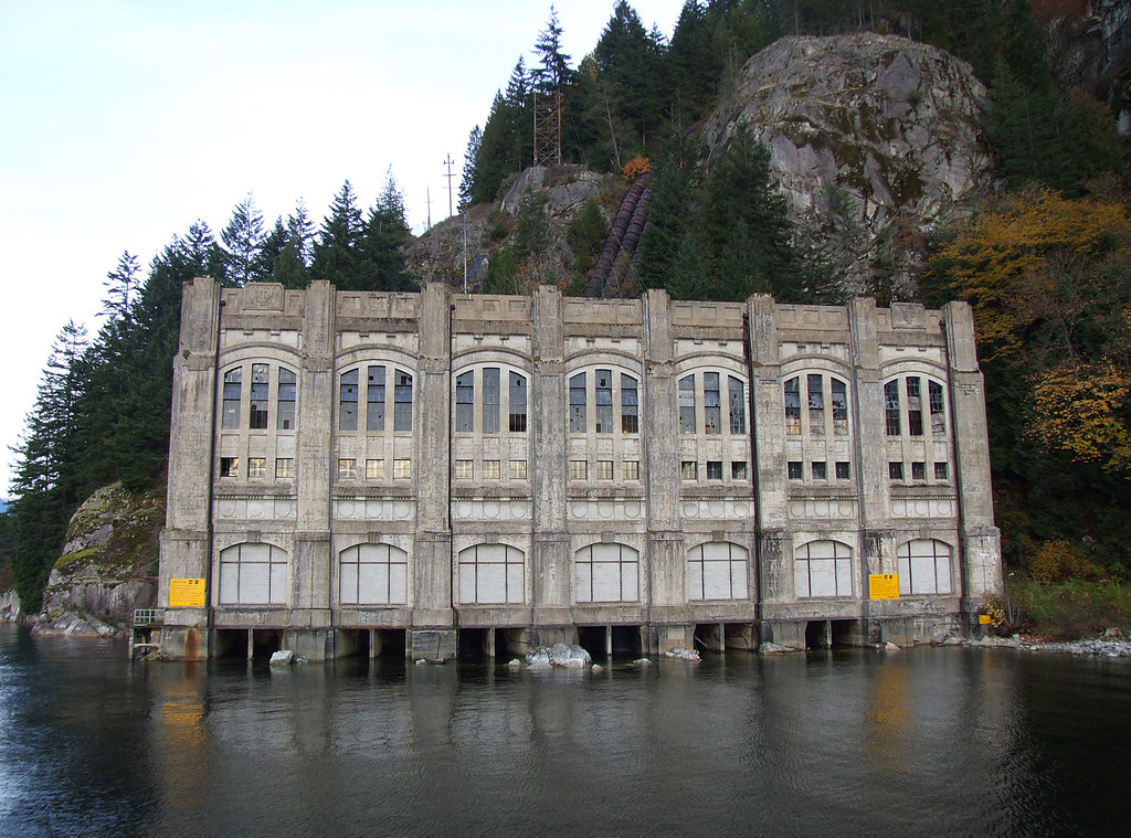 Indian Arm Power Station Vancouver Old Power Station On