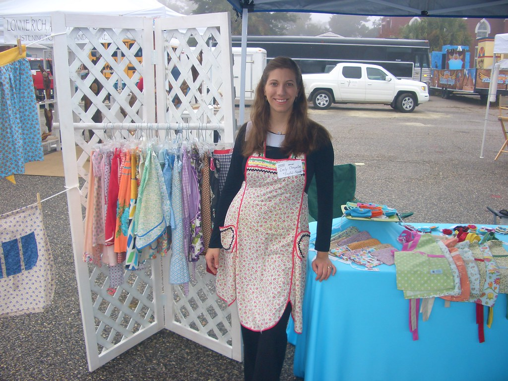 Craft Fair Apron