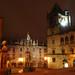Plaza de las Platerías de noche