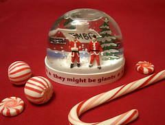 TMBG Holiday Snow Globe | by hine