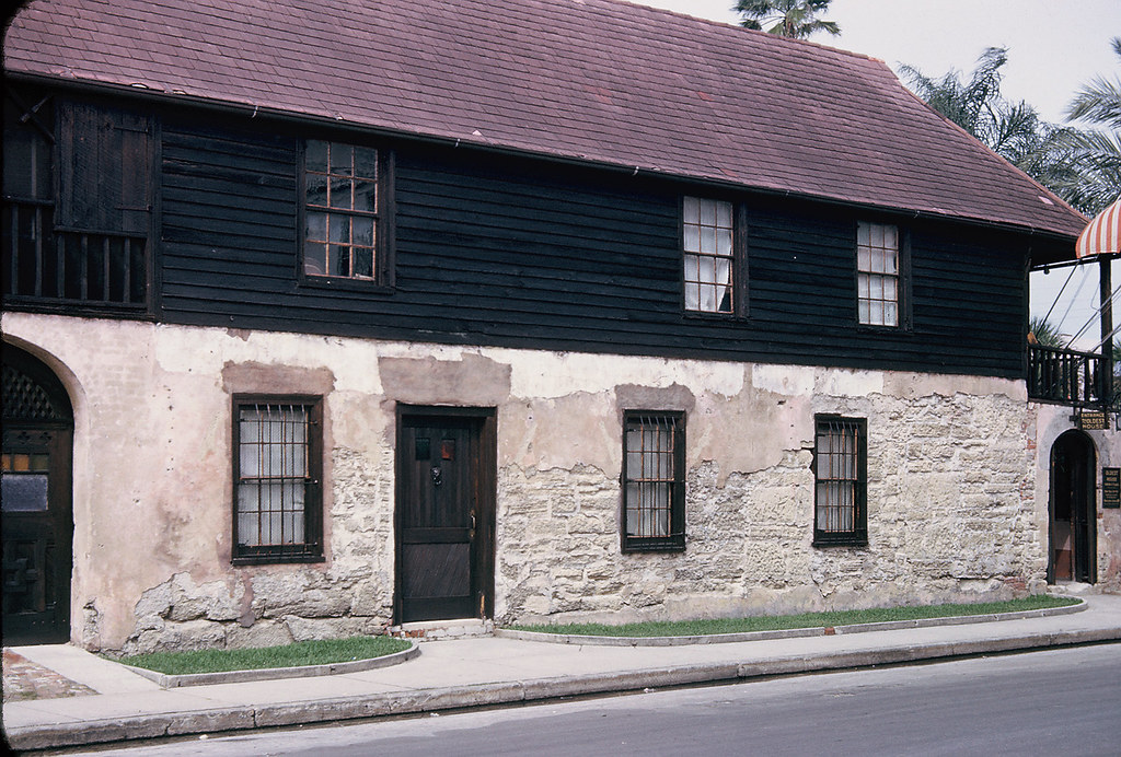 Oldest House In America Well In St Augustine At Least