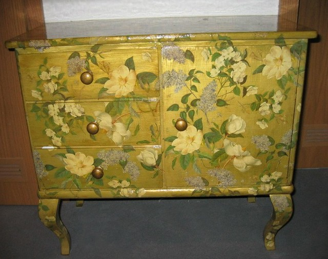 Decoupage Furniture | By Swamp Dragon Decoupage Furniture | By Swamp Dragon