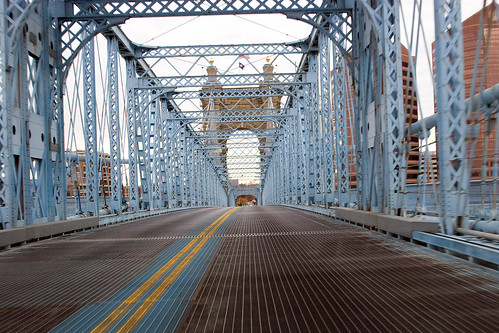 John A. Roebling Suspension Bridge | by chrisglass
