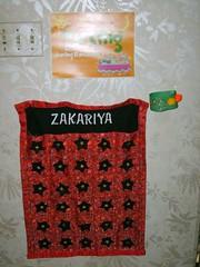 Zakariya's Ramadan Calendar