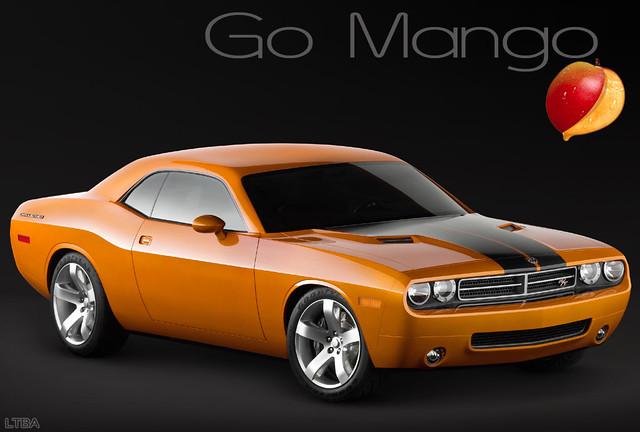 Go Mango Dodge Challenger >> What If: Go ManGo Challenger | LorenzoDeFacundo | Flickr