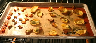 Baked Vegetable Chips With Dill | by Dianne's Dishes