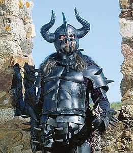 Vampiro Bóris em sua armadura medieval | Esse é o vampiro ...