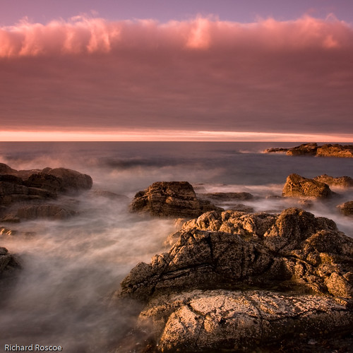 Sunset on the Rocks #2 | by Richard Roscoe Photography