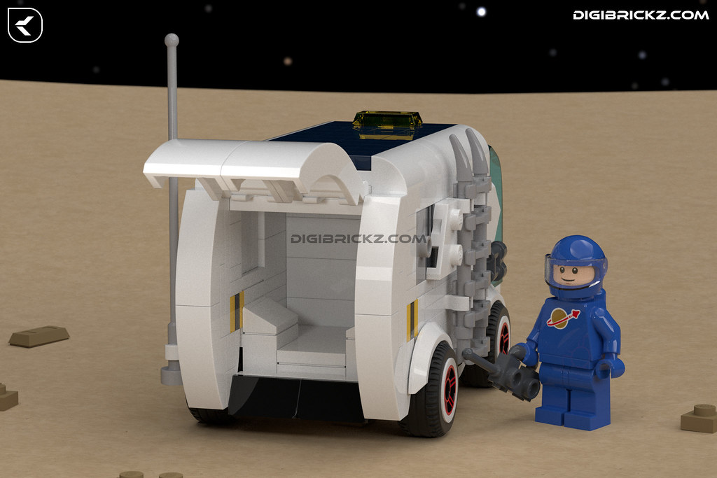 LEGO Space Rover Van (RMV-121) by Kamal Muftie Yafi (KamalMYafi/Kamteey)