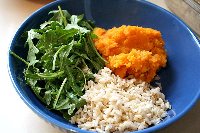 Healthy Sweet Potato Bowl