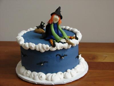 Birthday Bat Cake