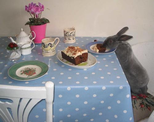 Bunny Carrot Cake Carrot Cake   by J.twinn