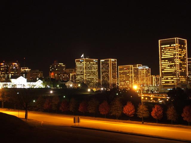 Richmond Christmas Skyline Flickr Photo Sharing