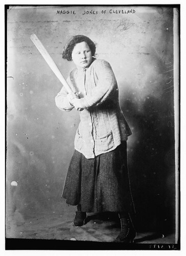 Maggie Jones of Cleveland [baseball]  (LOC) | by The Library of Congress