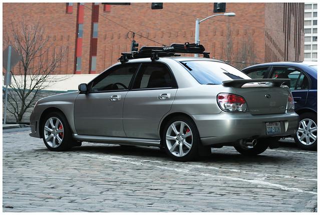 My06 Subaru Wrx Limited 4eat W Yakima Roof Rack My 2006 S Flickr