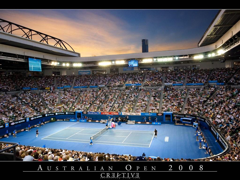 Australian Open 2008 Men S Final 3 Exposures F 5 6 17m Flickr