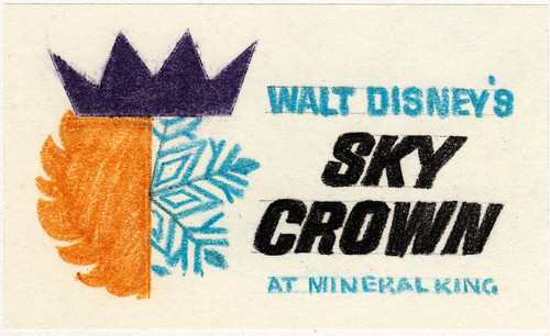 "Walt Disney's ""Sky Crown"" Logo 5 