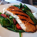 City Hall Diner Spinach Salad with Salmon