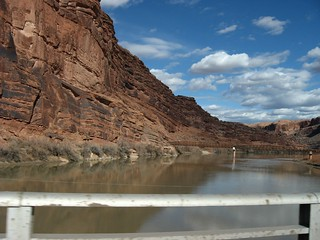 Crossing the Colorado River, U.S. 191, Moab, Utah | by Ken Lund