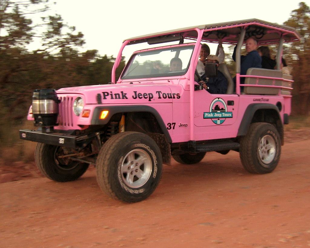 Pink Jeep Tours Sedona Coyote