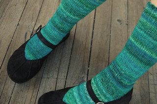 sock hop socks | by knitting school dropout