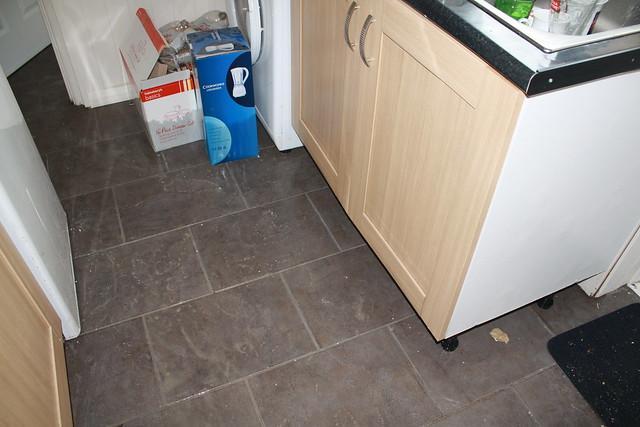 Kitchen Worktop Water Damage