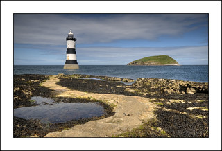 Penmon Lighthouse and Puffin Island | by -terry-
