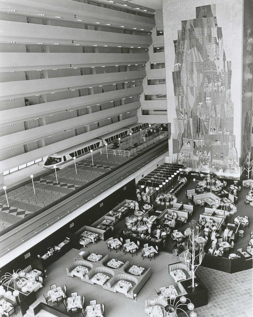 WDW 1971 - Inside the Contemporary Resort Hotel | Official