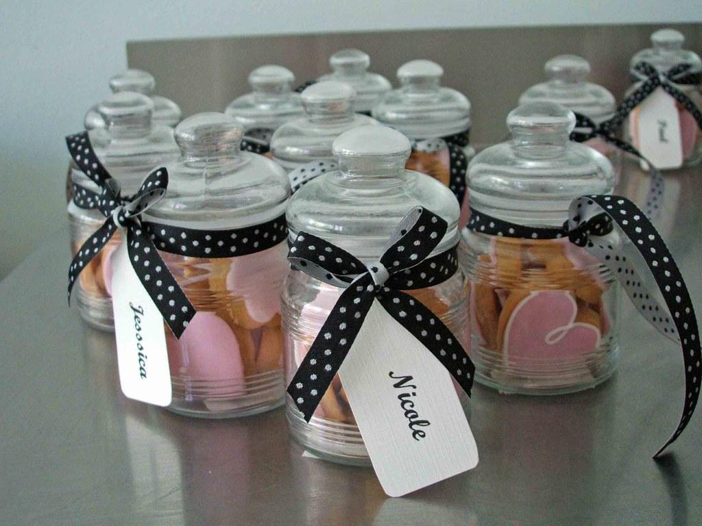 W0011 Wedding Bomboniere Wedding Cookie Jars With Placecar Flickr