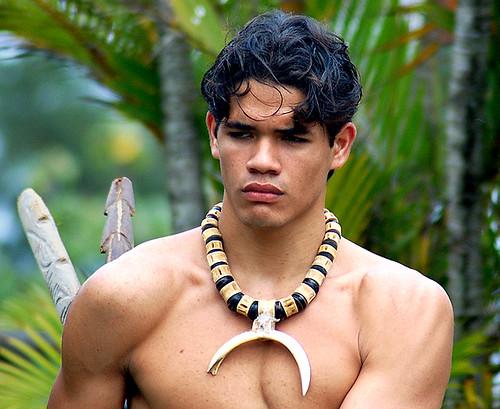New Zealand Maori Muscle Men Nude