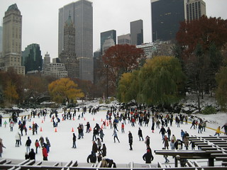 NY Snowing - Central Park Ice Skating | by James Trosh