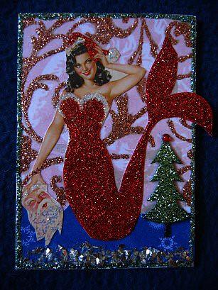 Christmas Mermaid II | Variation on the first xmas mermaid..… | Flickr