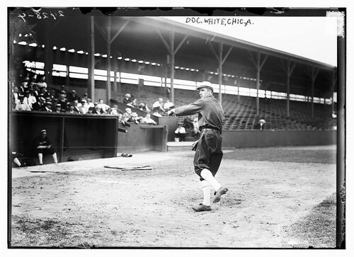 [Doc White, Chicago AL, at Hilltop Park, NY (baseball)]  (LOC) | by The Library of Congress