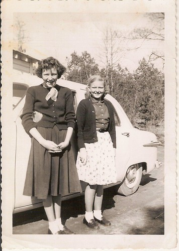 Charlotte & June Craft | by Valerie's Genealogy Photos