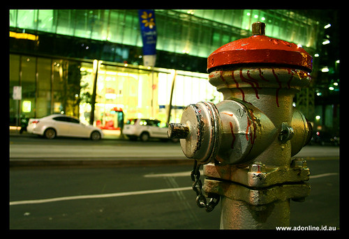 Hydrant and Glass | by Adam Dimech