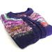 April Sweater (for mom): Puff-sleeve raglan cardigan