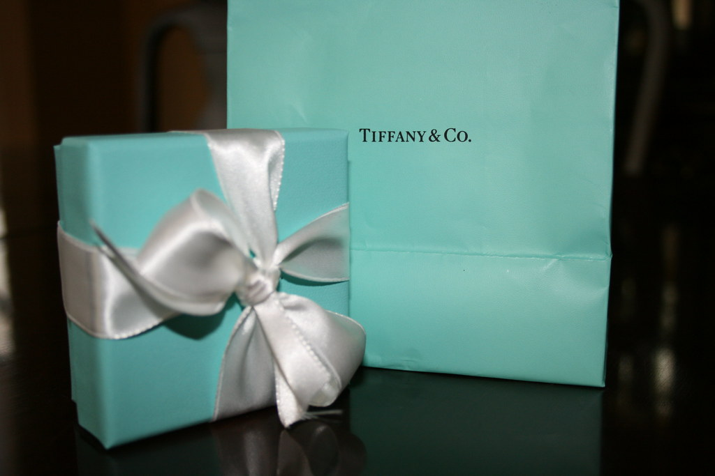 tiffany blue purchased mos graduation gift today she