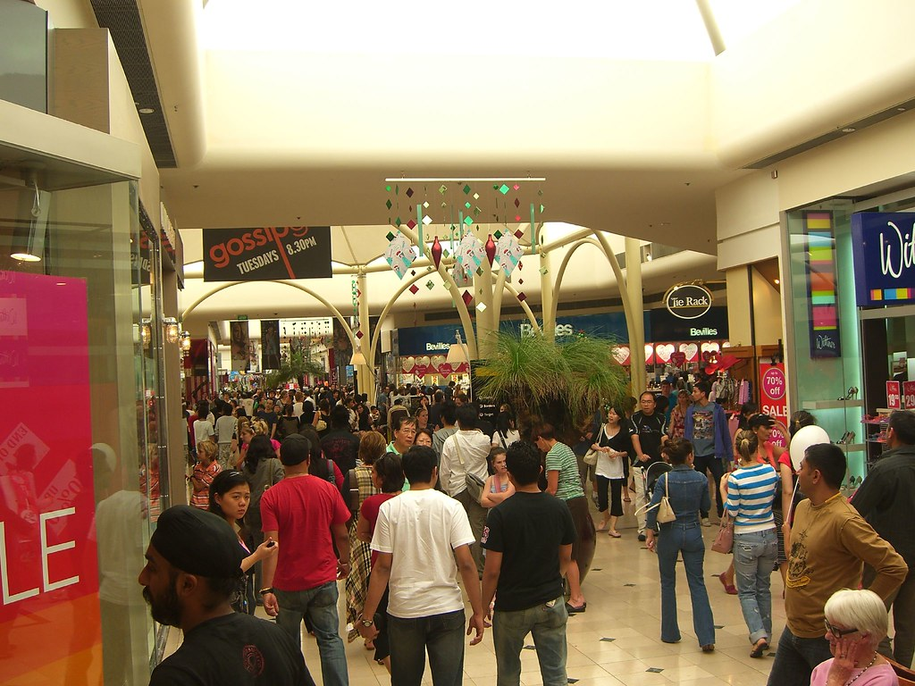 Boxing Day Sale Chadstone Shopping Centre Crowds At