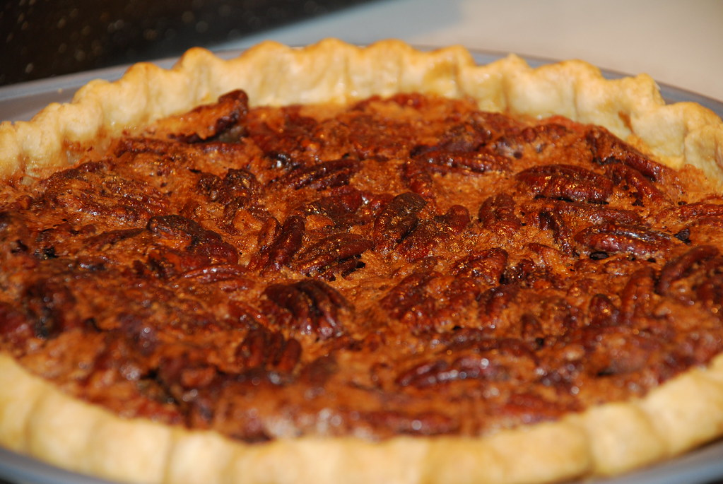 Maple Pecan Pie   Made with Pure Maple Syrup instead of ...
