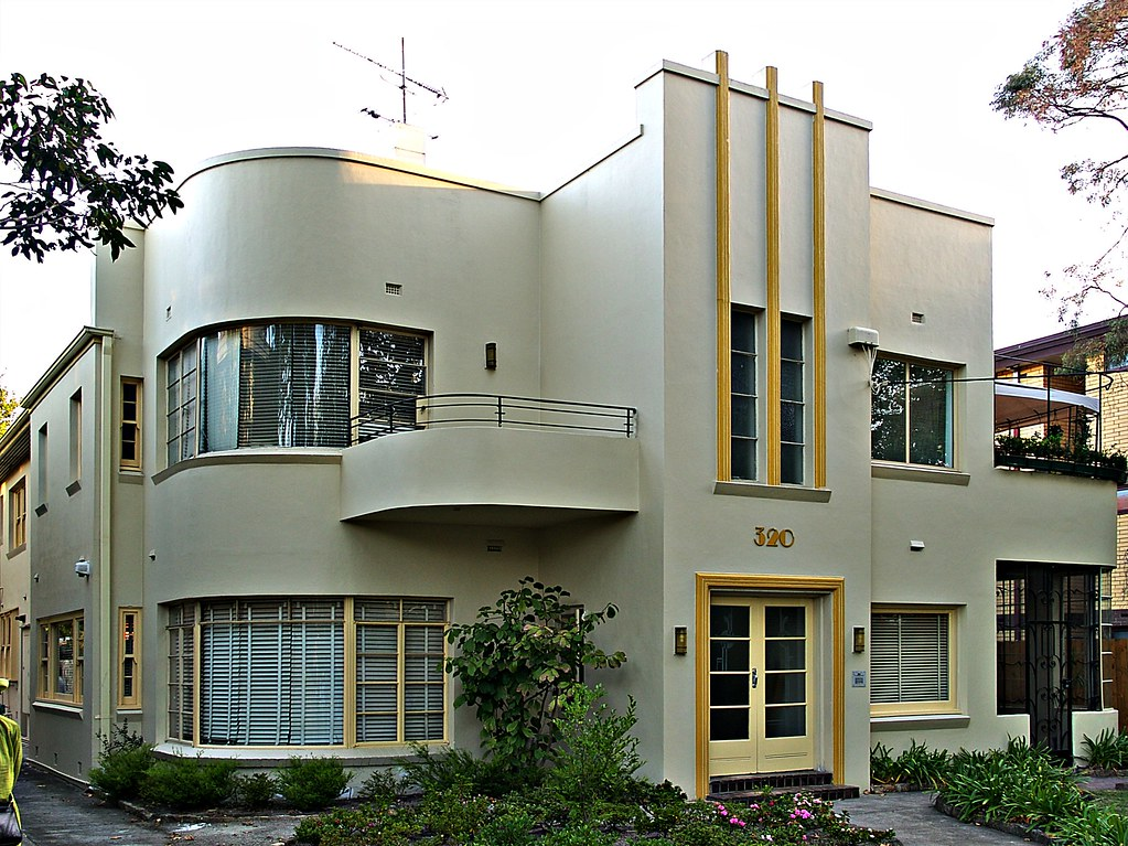 Melbourne art deco house sandra cohen rose and colin for Art maison deco